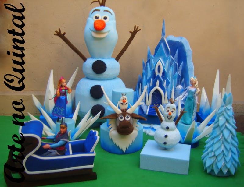 decoracao festa quintal: , Trolls, e todas as outras peças lindas para compor a festa Frozen