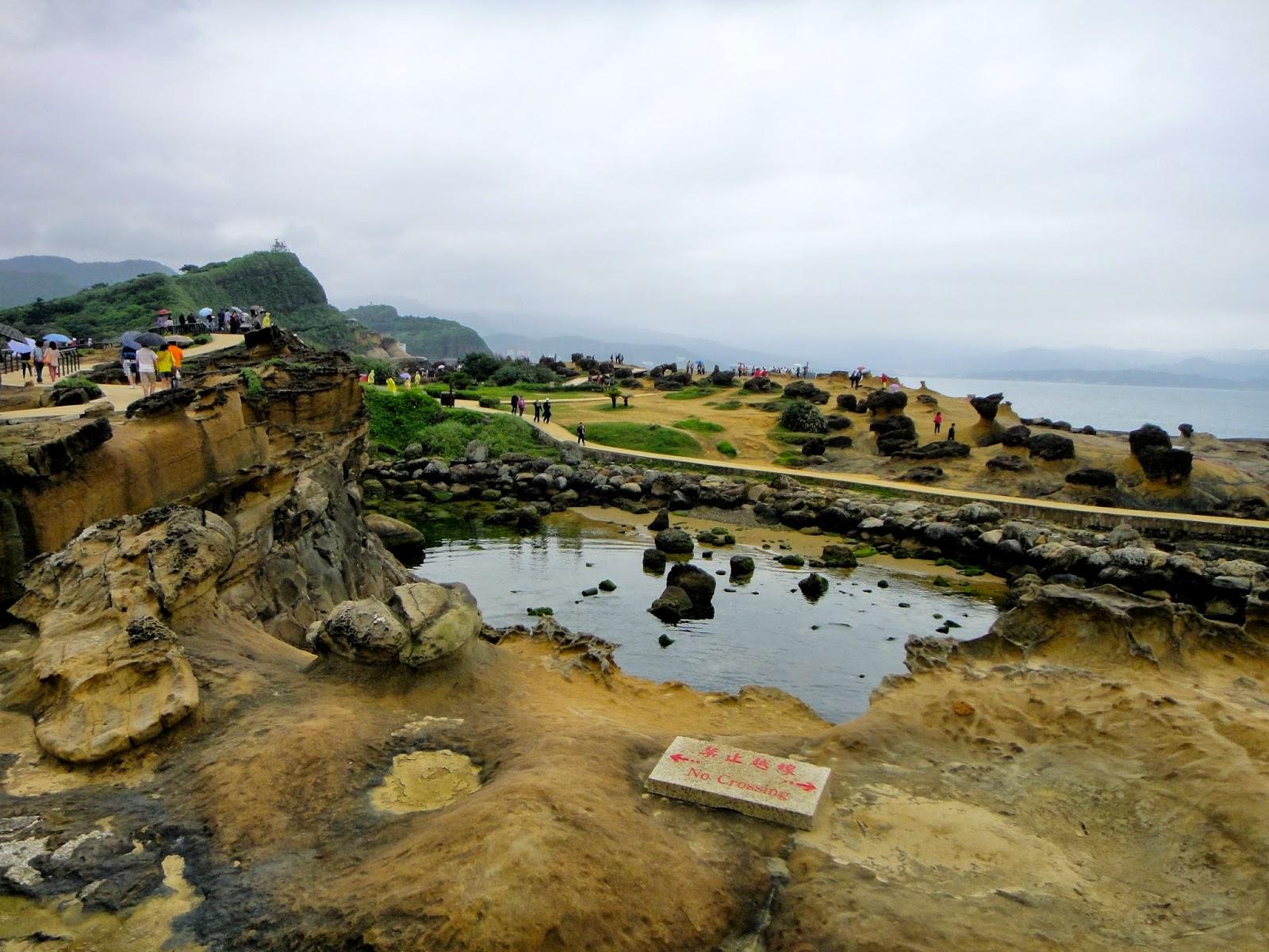 Yehliu Geopark Cape Taiwan
