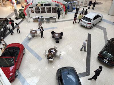 Audi越谷 特別車両展示