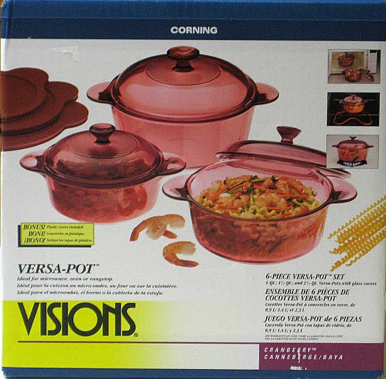 CorningWare 411: Visions Of Flowers
