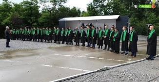 VIDEO: Festivitate de absolvire la Şcoala de Predicare Cireşarii