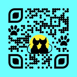 Cat custom qr code