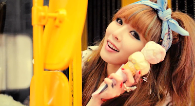 Hyuna Ice Cream pretty