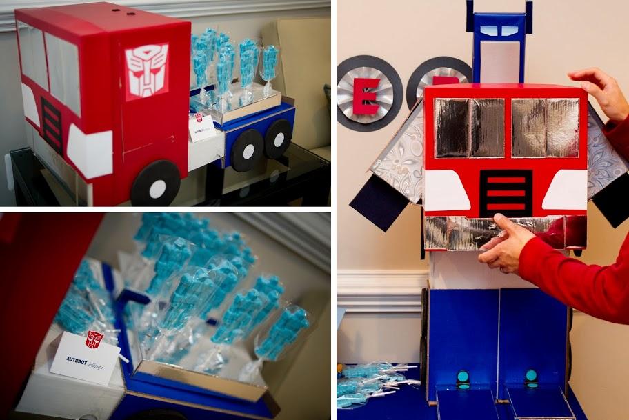 Fazendo a Minha Festa Infantil Ideias para uma Festinha Transformers!