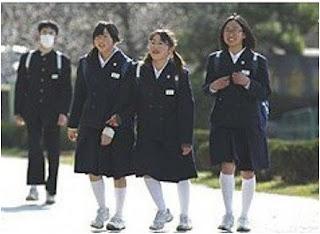Kegiatan Siswa Sekolah Jepang