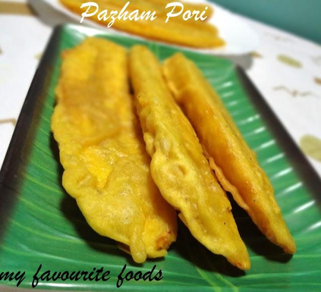 Ethakka Appam /Pazham Pori /Banana Fritters