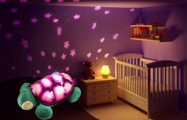 L mparas para dormitorios infantiles - Iluminacion habitacion bebe ...