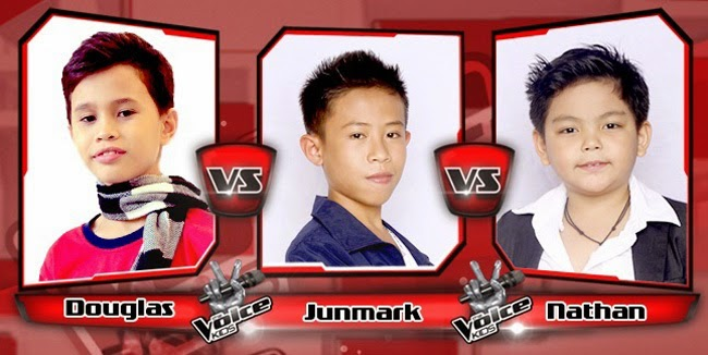 Nathan Won Over Douglas and Junmark on The Sing-offs for The Voice Kids Philippines