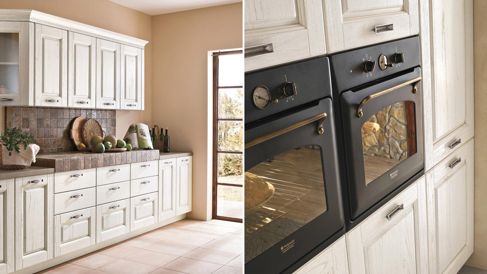 La cucina di oggi bella e pratica shabby chic interiors - Mensole cucina country ...