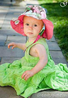 Baby Pictures girl white frock images of babies photos kids pictures  in green