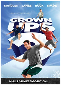 Capa Baixar Filme Gente Grande 2 (Grow Ups 2) Dublado    Avi BDRip   Torrent Baixaki Download