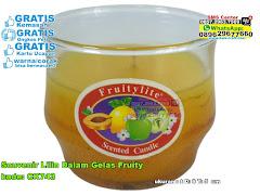 Souvenir Lilin Dalam Gelas Fruity