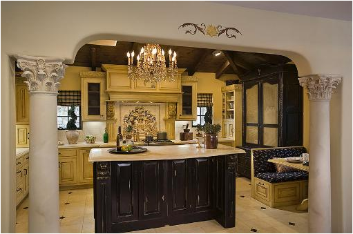 Old world kitchen ideas room design inspirations for Old home kitchen remodel