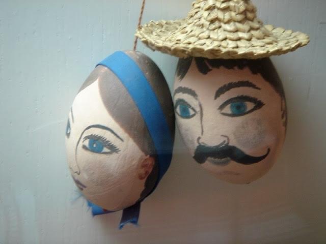 Закохані українські писанки із Музею Писанкив Коломиї