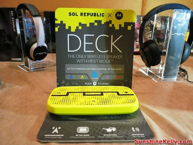 V-MODA, SOL REPUBLIC, headphones, deck sol republic