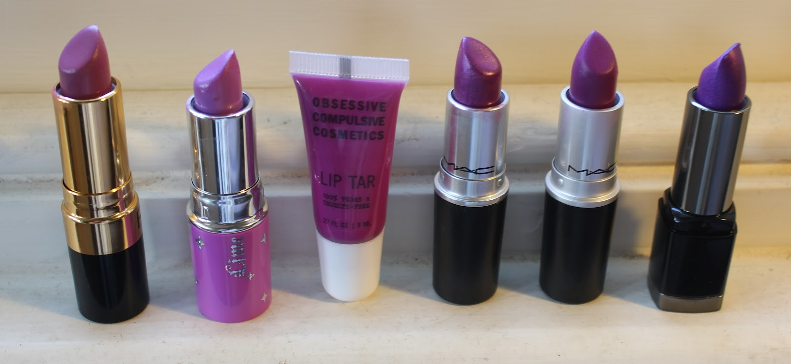 My Favourite Purple Lipsticks KITSCHSNITCH