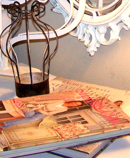 Olivia 39 s romantic home shabby chic lampshade for What does shabby mean