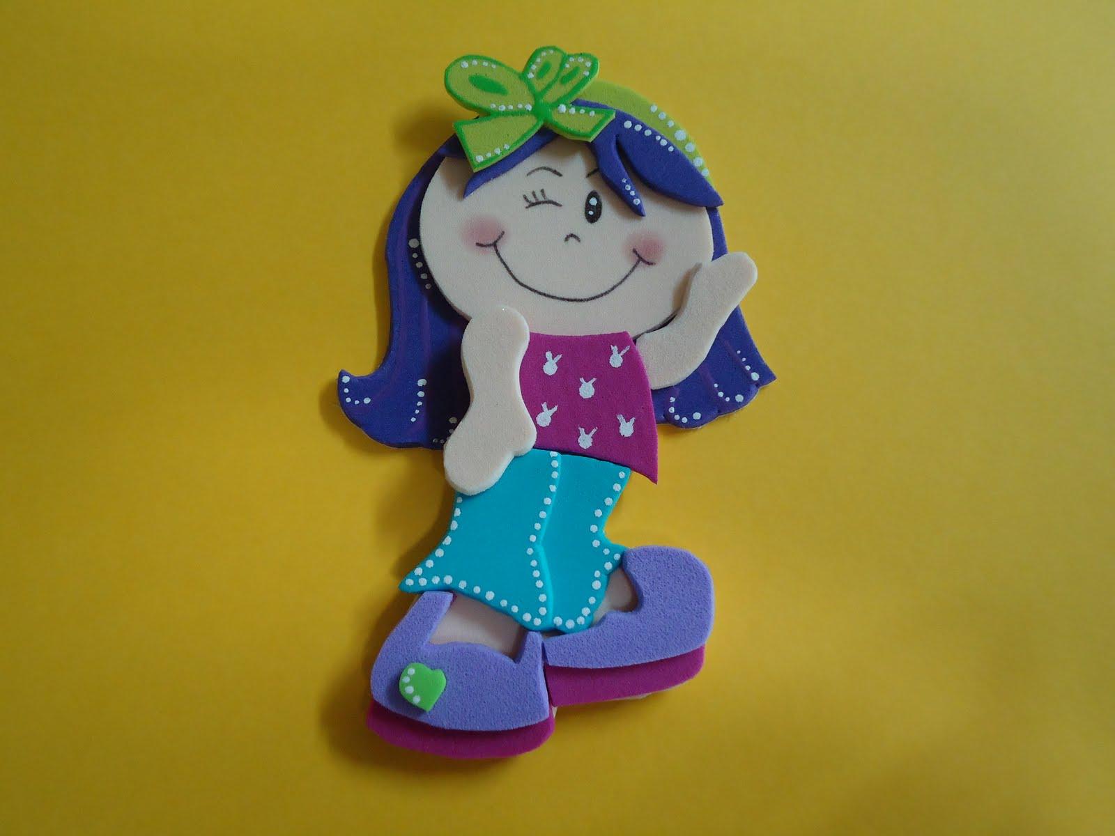Puntitos...: Mis muñecas fofuchas!!!