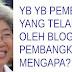 HOT STORY ...  Apabila Blogger Pembangkang Mula 'BABI'kan PEMIMPIN PAKATAN RAKYAT!