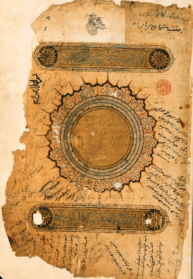 Fragment and diagram from 'The Alchemy of Happiness'