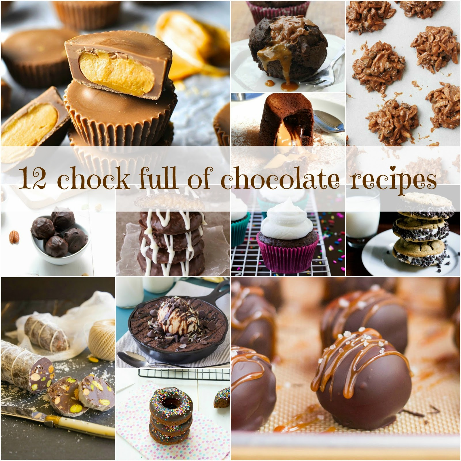 12 chock full of chocolate recipes