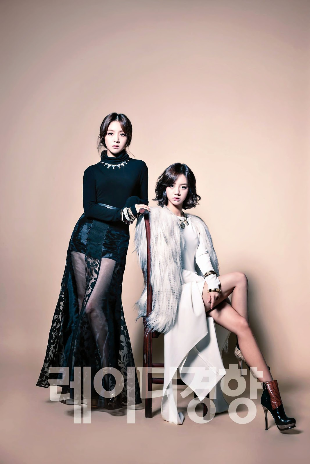 Minah and Hyeri Girl's Day - Lady Kyunghyang Magazine November Issue 2014