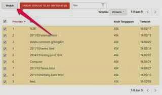 Cara Mudah Menghapus Broken Link pada Blog