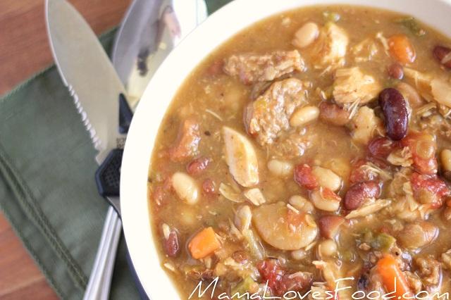 chicken sausage stew