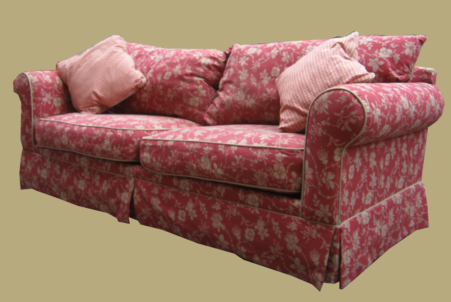Floral country sofas uhuru furniture amp collectibles klaussner cottage