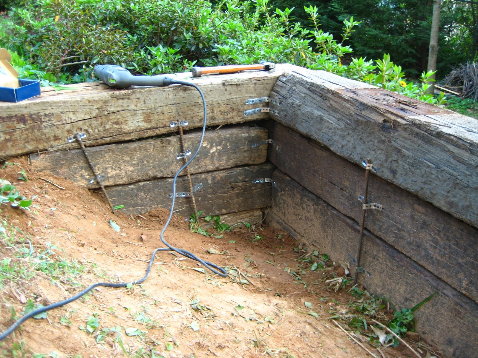 Landscaping With Railroad Ties Ideas - Landscape Ideas