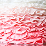 Pink Ombre Ruffles