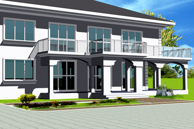 February 2013 ghana homes blog freeman setrana for Ghana house plan