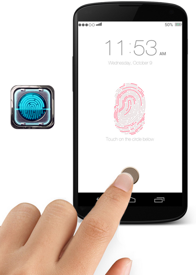 how to get the fingerprint on iphone 5c