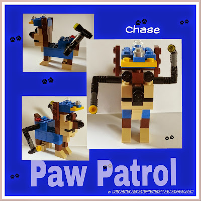 Check out this LEGO build of Chase from Paw Patrol @ Building Legos with Christ