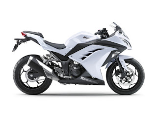 ninja 250 Injection White