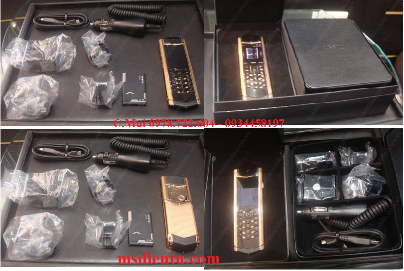 VERTU SIGNATURE S gold caro copy