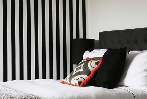 Tatiana doria rayas negras y blancas - Habitaciones blancas y negras ...