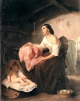 madre sola con su hijo