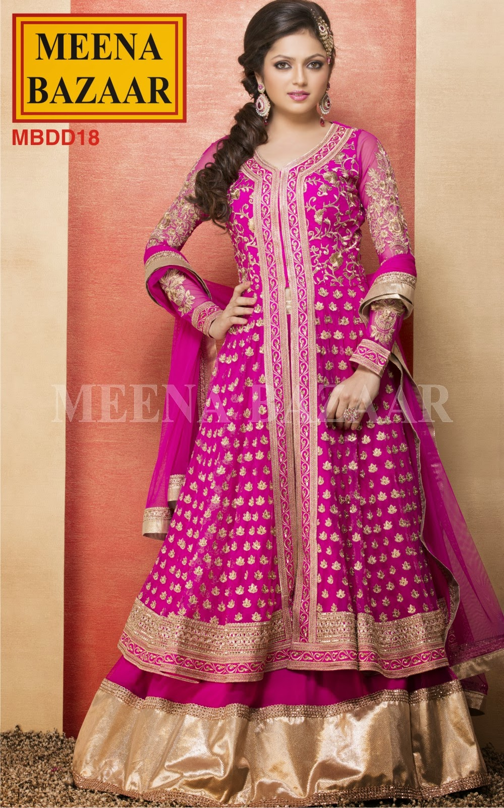 Drashti Dhami Dresses Madhubala Collection from Meena Bazaar 2013