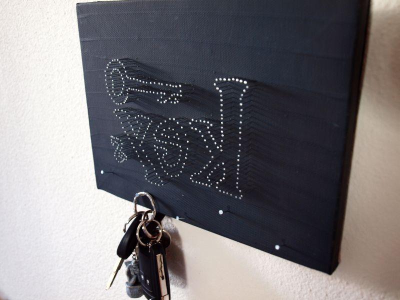 odds n sods schl sselbrett keyholder diy. Black Bedroom Furniture Sets. Home Design Ideas