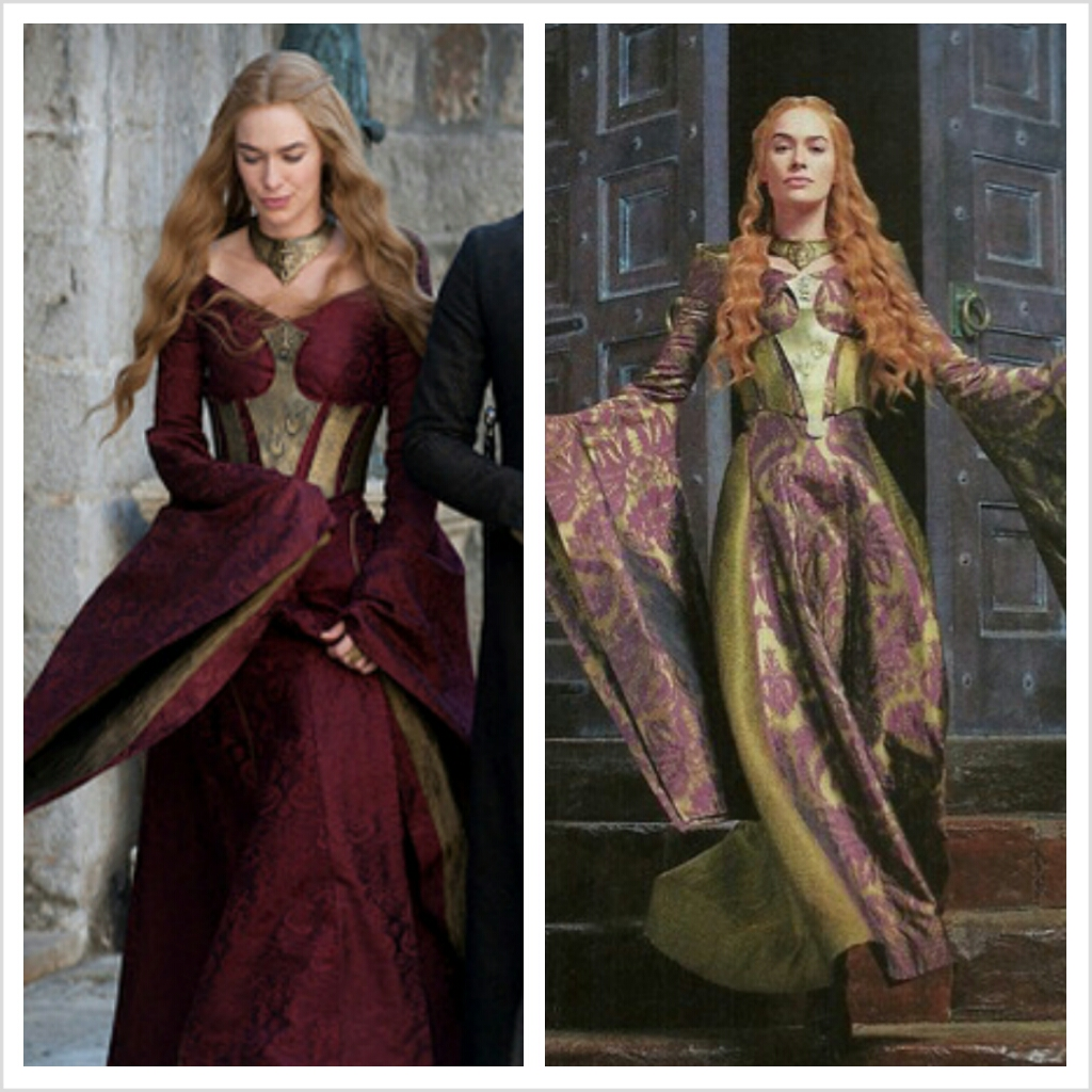 Game of thrones fashion: inspired