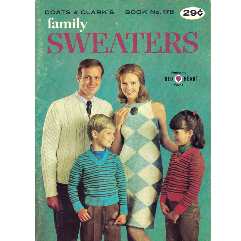 Vintage Knit Crochet Shop Talk Family Sweaters Knit