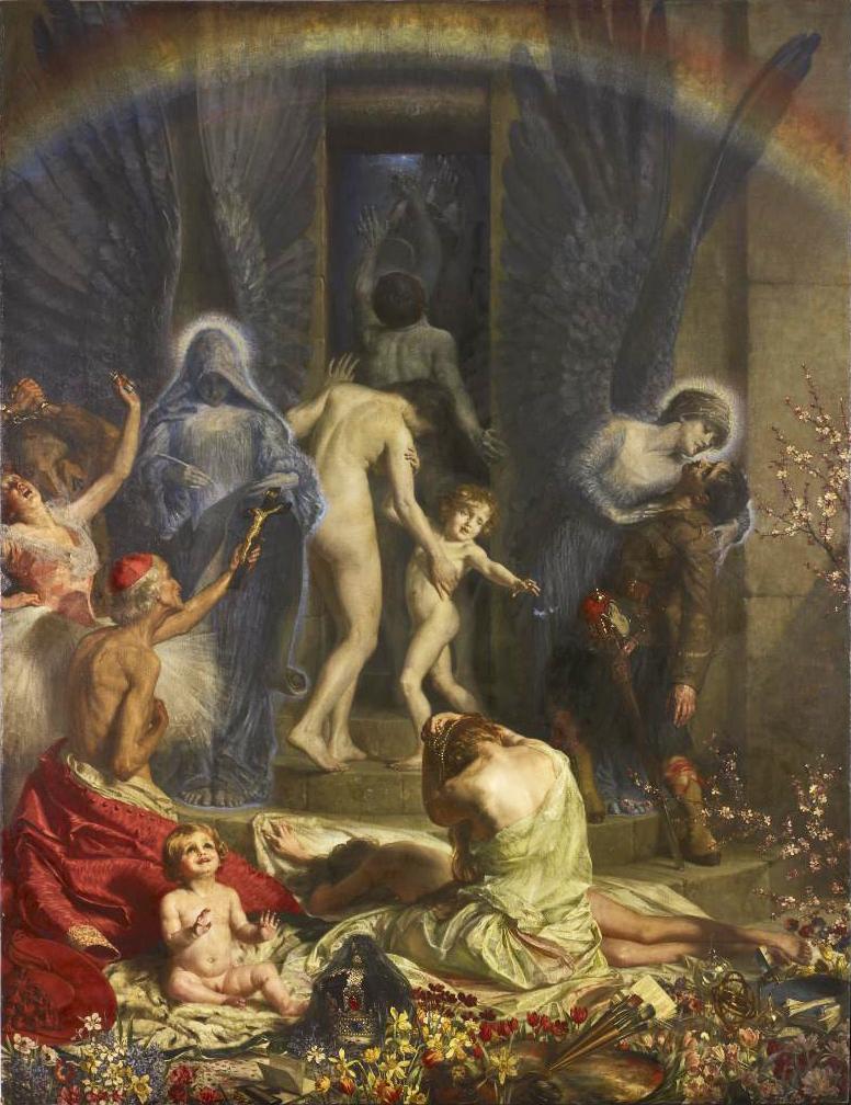 open door painting. The Ever Open Door (1906) Painting