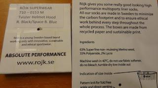 Rojk Socks Label