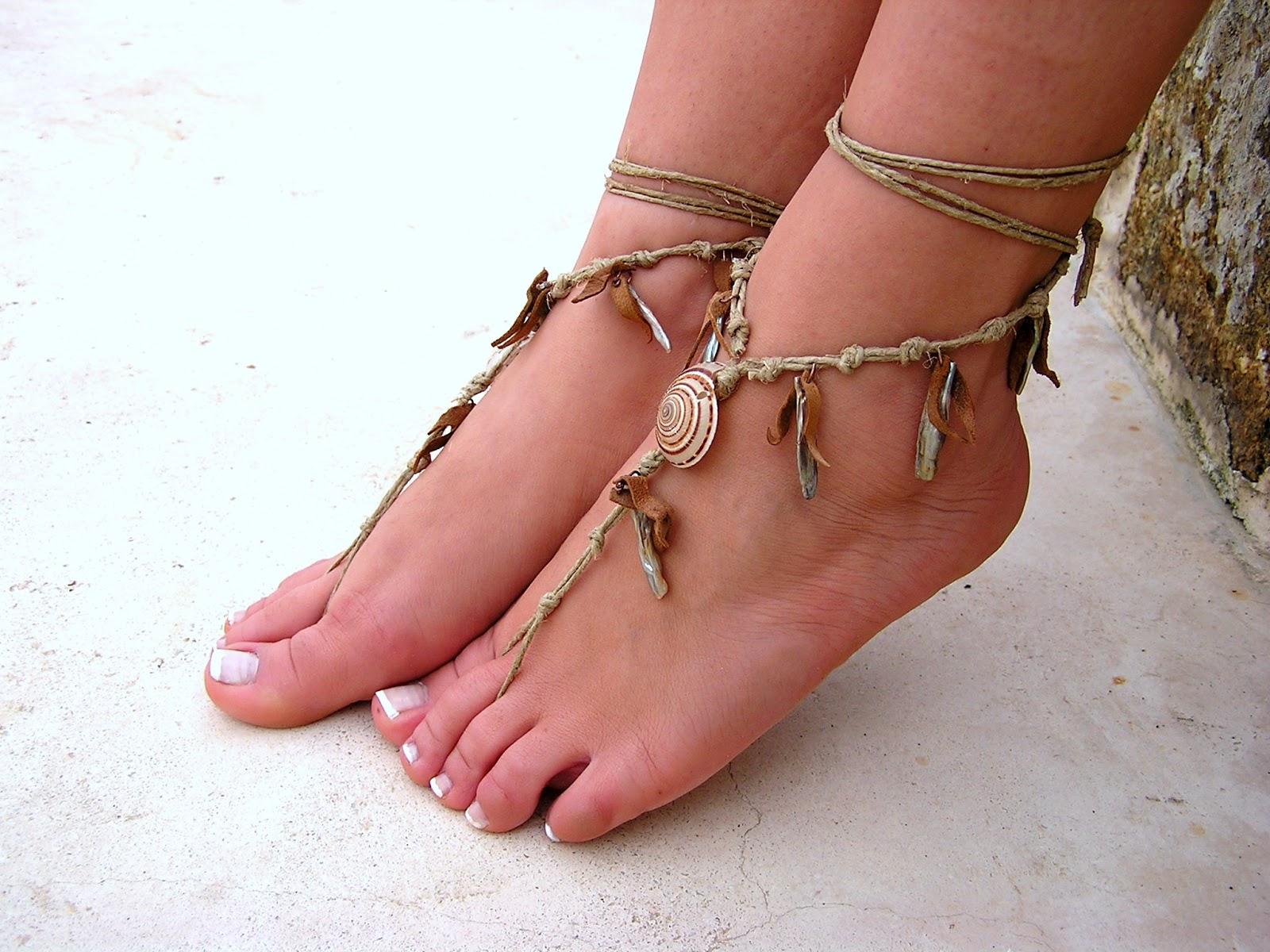 Silver Color Beads Tassel Anklets For Women Ankle Bracelets Charm Leg Chain Bohemian Hollow