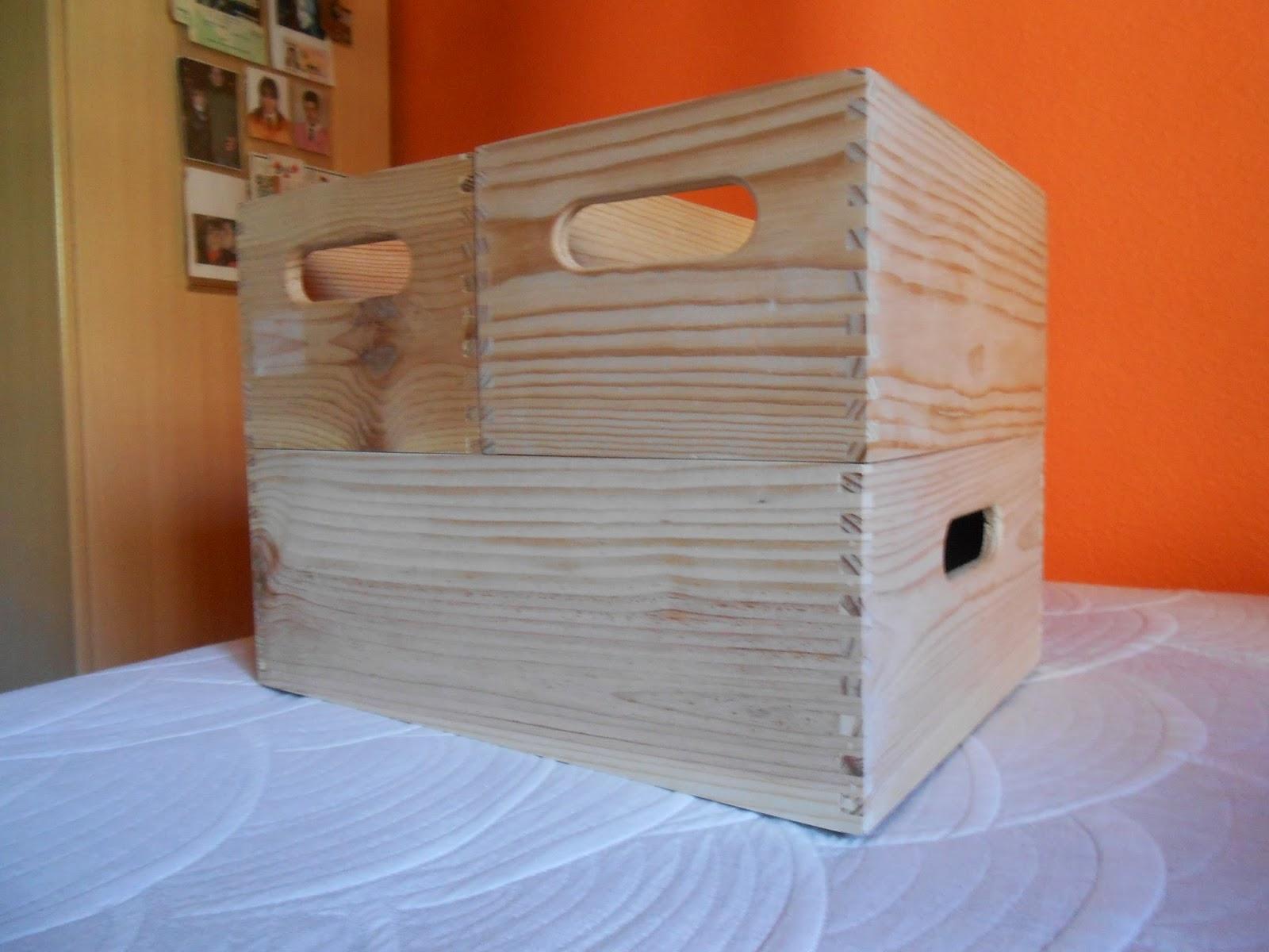 C mo decorar cajas apilables para ordenar nuestras cosas - Como decorar cajas de madera paso a paso ...