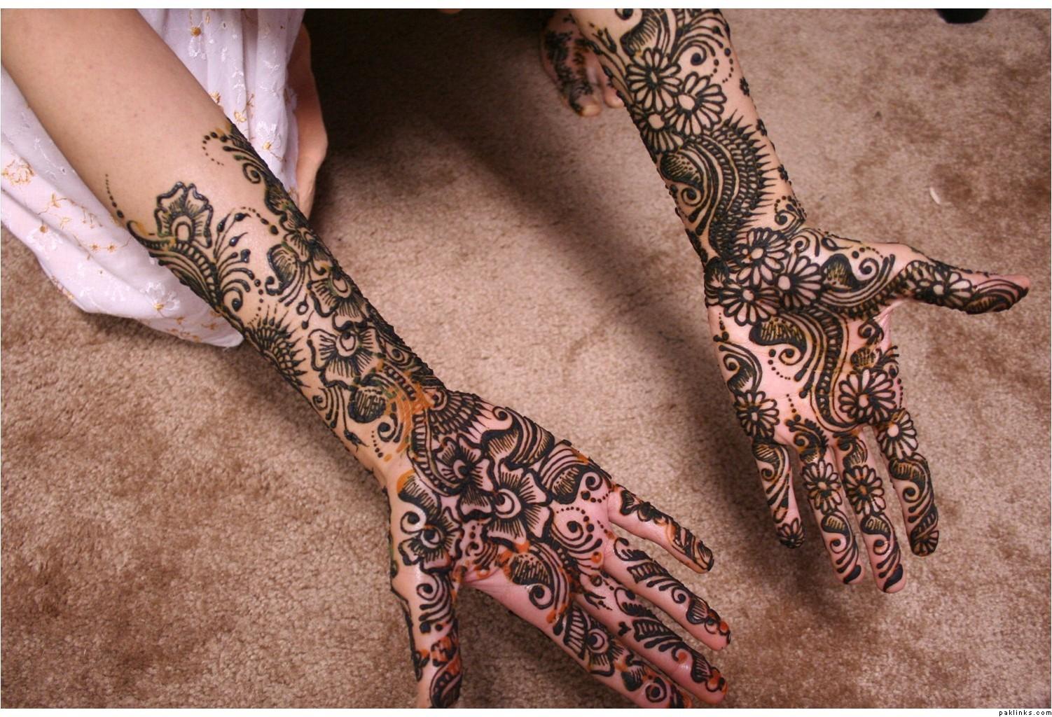 Mehndi Henna design 2011
