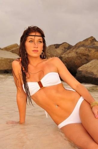 Miss Barbados World 2012 winner Marielle Wilkie