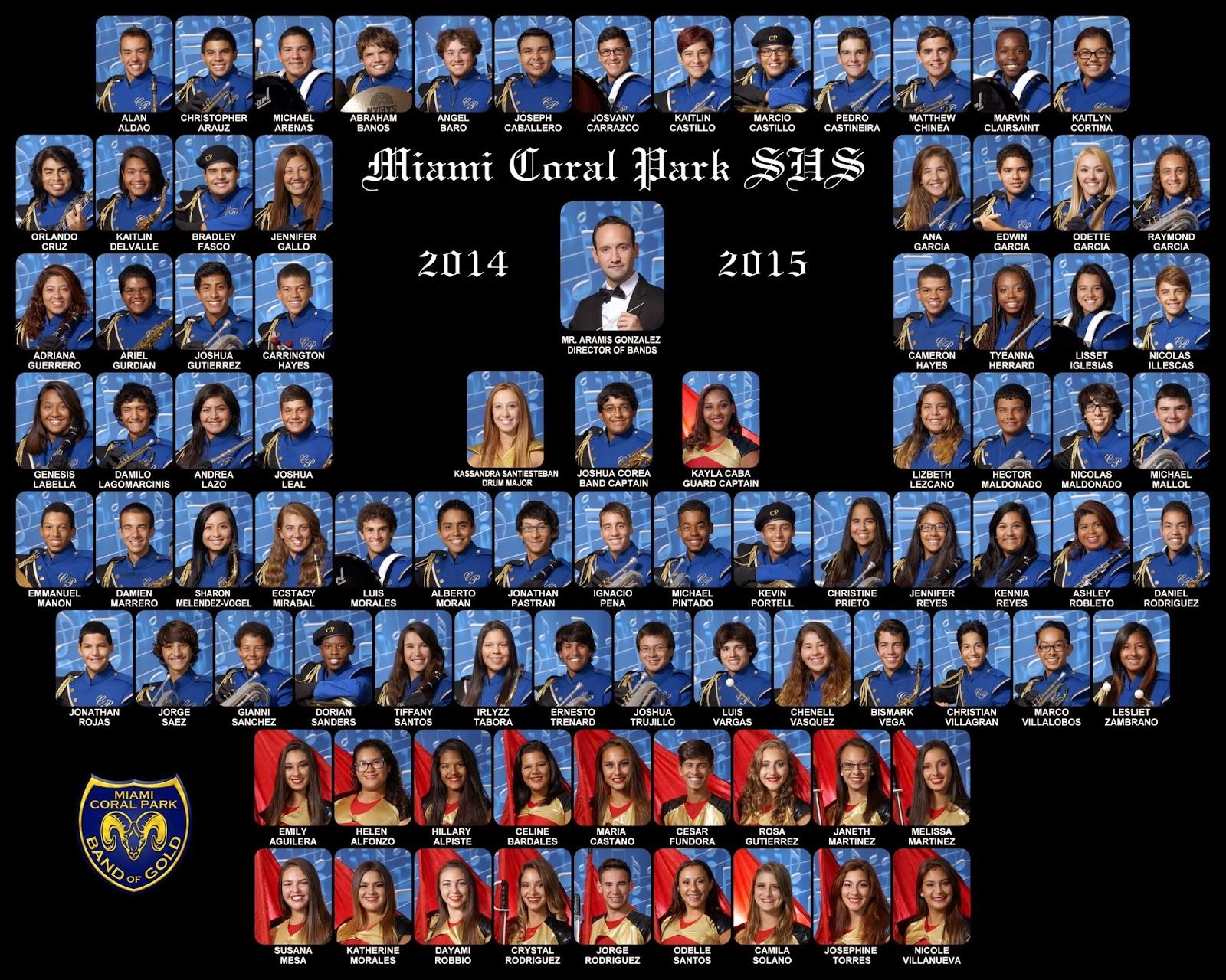 Park Miami Miami Coral Park Shs 2014-2015