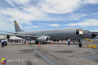 Boeing 737-400F Cronos de la Fuerza Aérea Colombiana